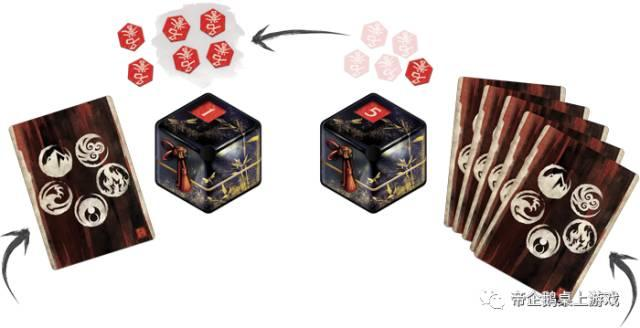 【桌游】《五轮传奇:卡牌游戏》成长式卡牌游戏充满了争夺和名誉